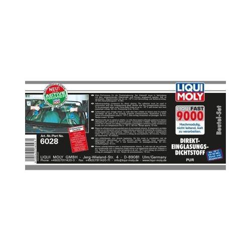 LIQUI MOLY Liquifast 9000 (Beutel-Set) 6028