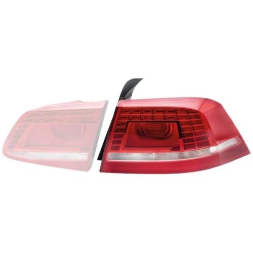 Combination Rearlight HELLA 2SK 010 746-041 VW