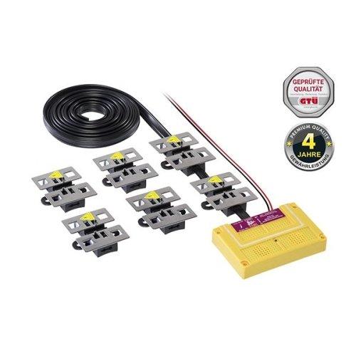 STOP&GO Marderschutz 7 PLUS-MINUS SKT Hochspannungsgerät mit Ultraschall 07571