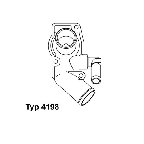 WAHLER Thermostat 4198.92D
