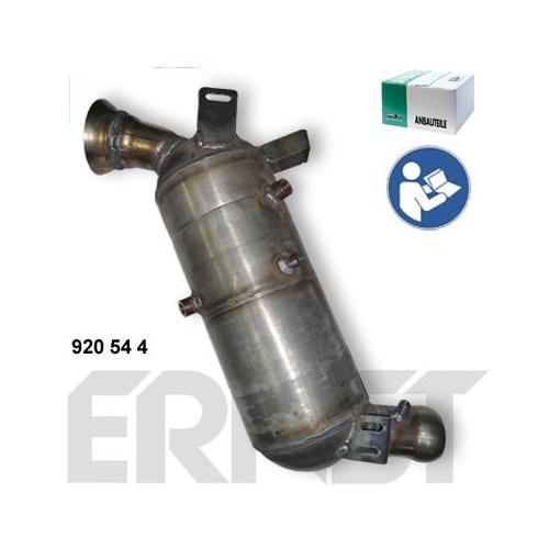 Ruß-/Partikelfilter, Abgasanlage ERNST 920544 Set MERCEDES-BENZ