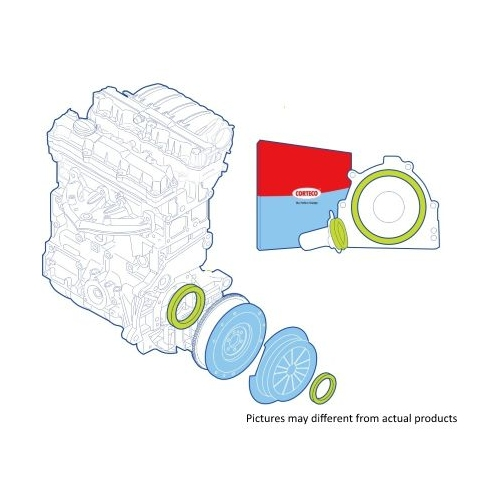 Shaft Seal Set, clutch CORTECO 19134537 FIAT LANCIA