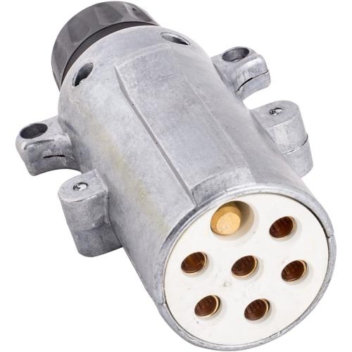 JAEGER 73400004 Stecker Schraubanschluss Metall 24 V 7 - polig ISO 3731