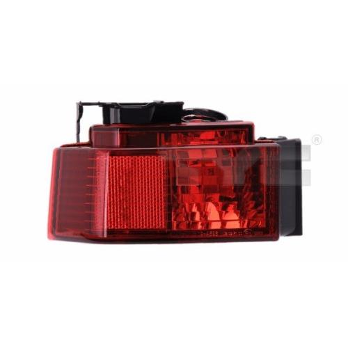 Rear Fog Light TYC 19-0596-11-2 OPEL