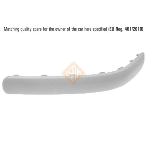 ISAM 0907723 Zier-/Schutzleiste Stoßfänger hinten rechts für VW Golf IV