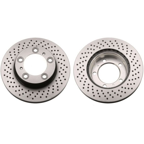 Brake Disc TRW DF6413S PORSCHE
