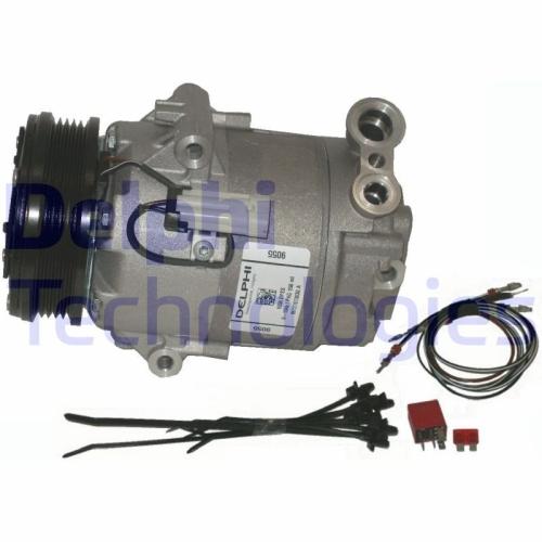 DELPHI Kompressor, Klimaanlage TSP0155458