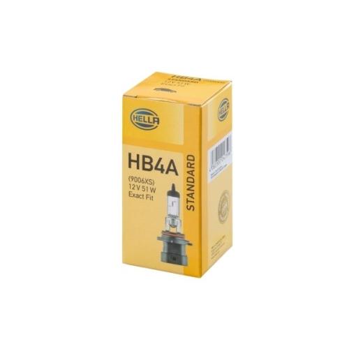 Glühlampe, Hauptscheinwerfer HELLA 8GH 005 636-201 STANDARD