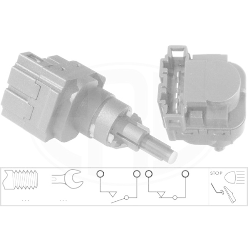 Brake Light Switch ERA 330503 PORSCHE VW