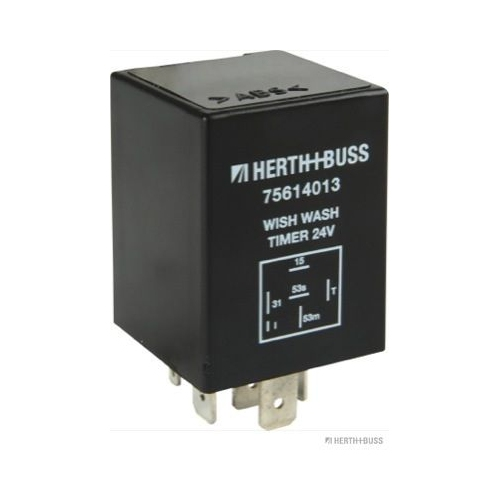 Relais, Wisch-Wasch-Intervall HERTH+BUSS ELPARTS 75614013 AUDI HANOMAG HENSCHEL