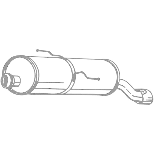 BOSAL Endschalldämpfer 190-603
