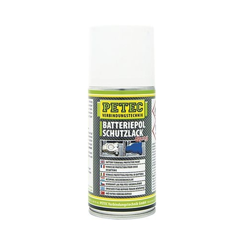 Batteriepolfett PETEC 72650 BATTERIEPOLSCHUTZLACK SPRAY
