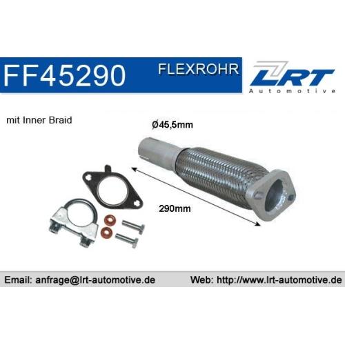 LRT Flexrohr, Abgasanlage FF45290