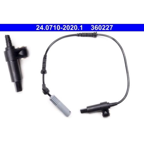 Sensor, Raddrehzahl ATE 24.0710-2020.1 BMW