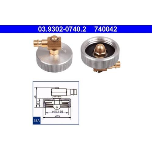 Entlüfterstutzen ATE 03.9302-0740.2