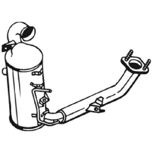 Ruß-/Partikelfilter, Abgasanlage BOSAL 095-215 FORD MAZDA VOLVO