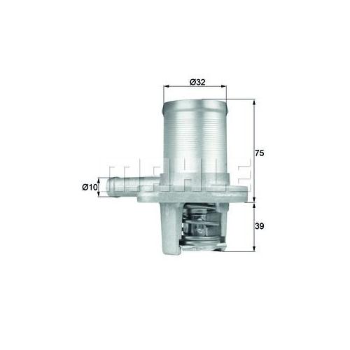 Thermostat, Kühlmittel BEHR TI 40 89 RENAULT