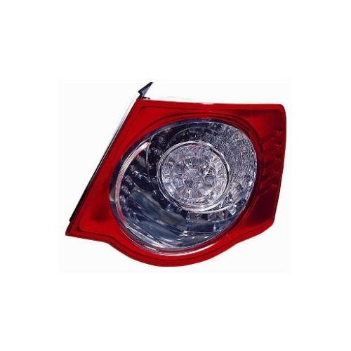 Combination Rearlight VAN WEZEL 5886922 VW