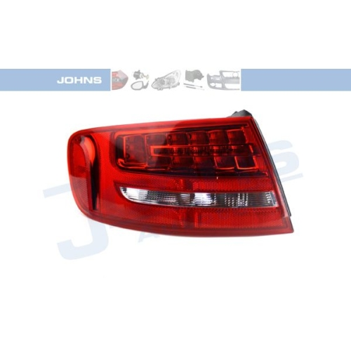 Combination Rearlight JOHNS 13 12 87-55 AUDI