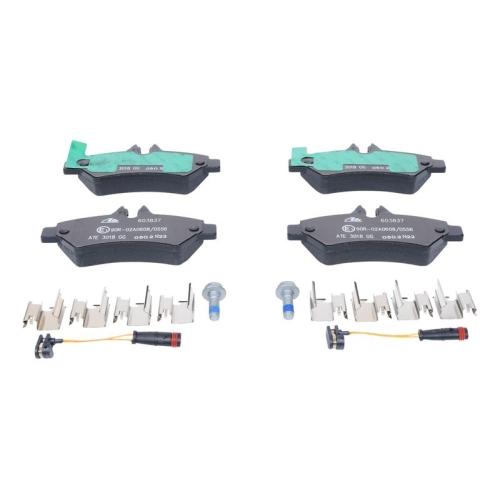 ATE Brake Pad Set, disc brake 13.0460-3837.2