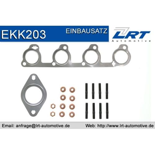 LRT Montagesatz, Katalysator EKK203
