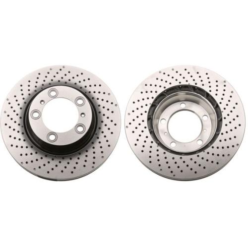 Brake Disc TRW DF6464S PORSCHE