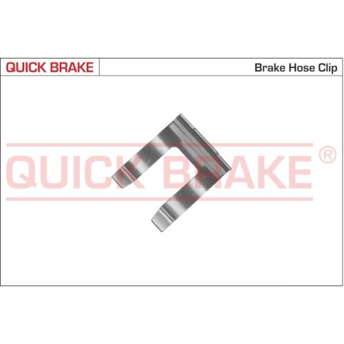 Holding Bracket, brake hose QUICK BRAKE 3208 BMW FORD MAZDA NISSAN