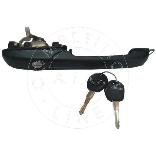 AIC door handle in front left with lock cylinder 50561