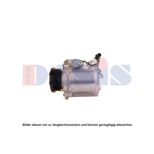 Compressor, air conditioning AKS DASIS 852789N MITSUBISHI CITROËN/PEUGEOT