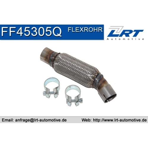 Repair Pipe, middle silencer LRT FF45305Q SEAT SKODA VW