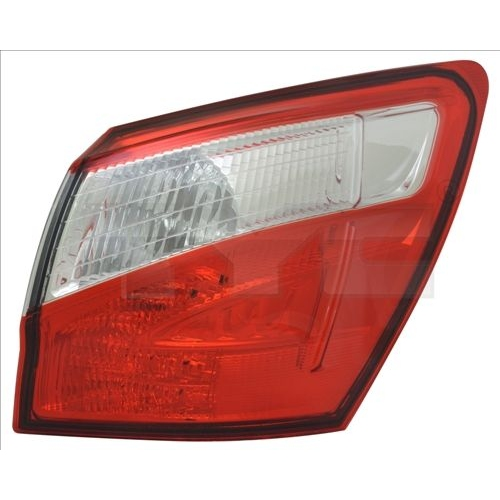 Combination Rearlight TYC 11-12352-06-2 NISSAN