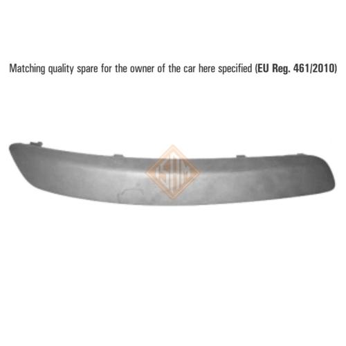 ISAM 0908714 Zier-/Schutzleiste Stoßfänger vorne rechts für VW Golf V