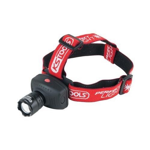 KS TOOLS perfectLight Kopflampe mit Fokus 140 Lumen 550.1238