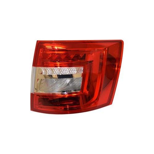 Combination Rearlight VAN WEZEL 7631926 SKODA