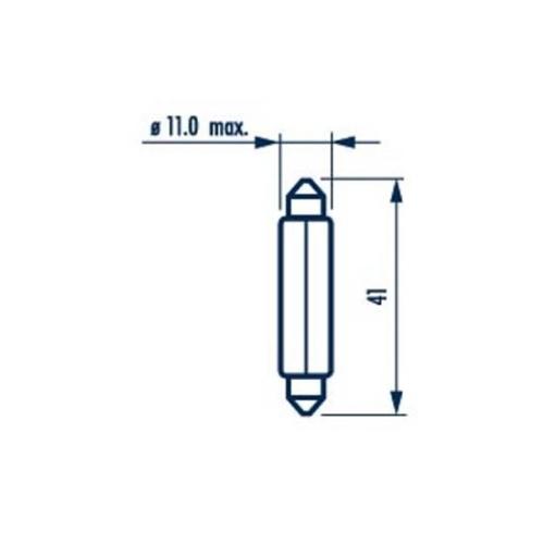 Bulb, glove box light NARVA 17314