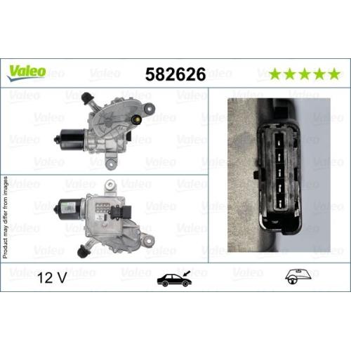 Wischermotor VALEO 582626 ORIGINAL TEIL CITROËN