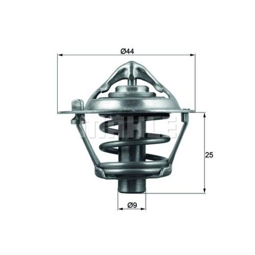 BEHR THERMOT-TRONIK Thermostat, Kühlmittel TX 113 82D