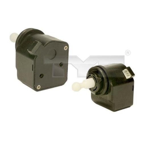 Control, headlight range adjustment TYC 20-11813-MA-1 AUDI MERCEDES-BENZ OPEL VW