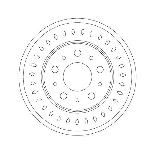TRW Brake Disc DF6925S