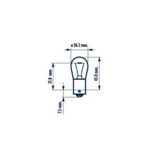 Bulb, indicator NARVA 17635