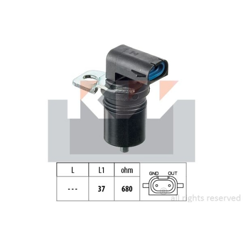 Drehzahlsensor, Automatikgetriebe KW 453 321 Made in Italy - OE Equivalent FORD