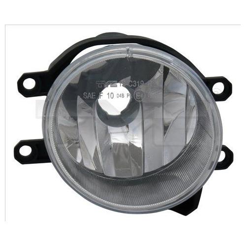Fog Light TYC 19-12320-01-9 PEUGEOT TOYOTA