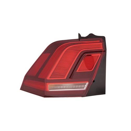 Combination Rearlight VAN WEZEL 5747921 VW