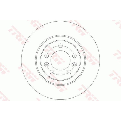 TRW Brake Disc DF6134
