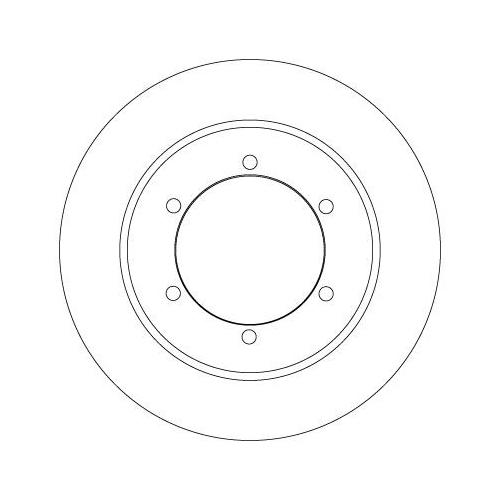 TRW Brake Disc DF6790