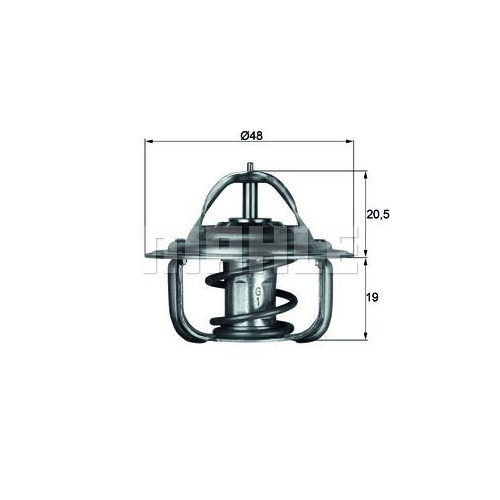 BEHR THERMOT-TRONIK Thermostat, Kühlmittel TX 1 71D