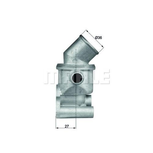 Thermostat, coolant BEHR TI 72 87D AUDI FIAT VAG CUPRA