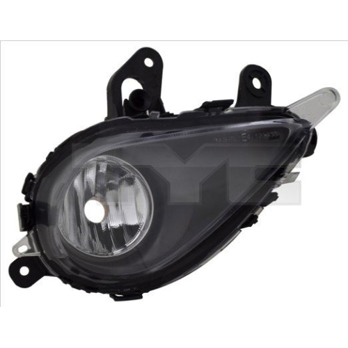 Fog Light TYC 19-14265-01-2 OPEL