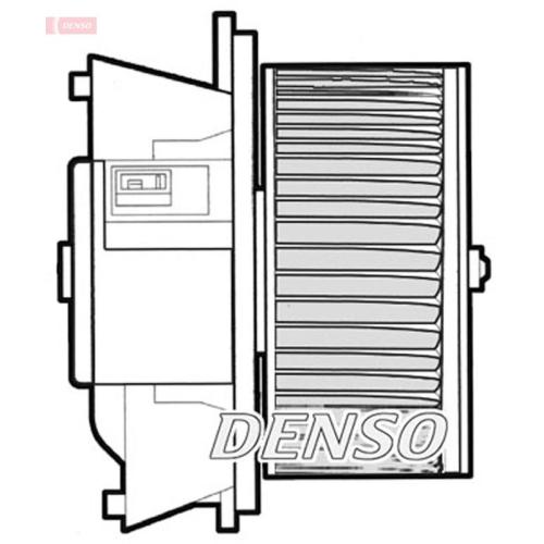 Innenraumgebläse DENSO DEA09043 FIAT