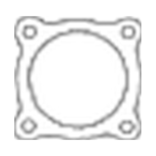 Gasket, exhaust pipe BOSAL 256-069 AUDI OPEL SEAT SKODA VW
